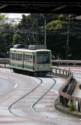 東京都交通局 都電荒川線 7000型路面電車