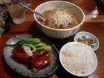 【ランチ】日比谷・彩菜酒麺 客家(サイサイシュメン クーチャ)/角煮老麺
