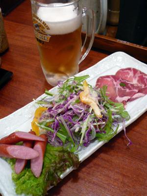六本木・とんかつと豚肉料理 平田牧場/三元豚 おつまみ盛り合わせ ジョッキセット