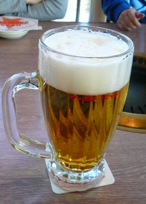 船橋港・サッポロビール千葉ビール園/サッポロ生ビール(大ジョッキ)