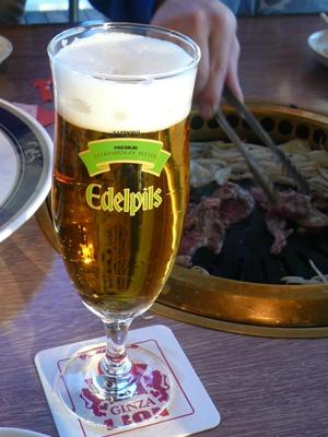 船橋港・サッポロビール千葉ビール園/エーデルピルス(特別限定醸造スーパープレミアム)(特製グラス)