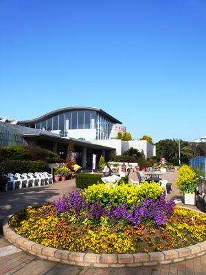 【ランチ】「公園の中のカジュアルレストラン」千葉市稲毛海浜公園・花の美術館 レストラン ラ・ミューゼ