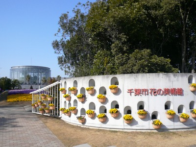 千葉市稲毛海浜公園・レストラン ラ・ミューゼのある「千葉市 花の美術館」
