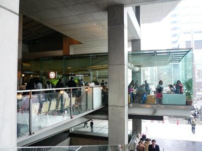 【ランチ】有楽町・東京国際フォーラム/レバンテ 店舗外観