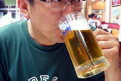 千葉 稲毛海岸・餃子の王将 稲毛海岸駅前店/餃子にはビールでしょ!