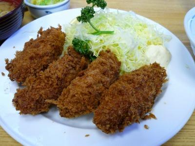 【ランチ】新橋・とんかつ 末吉のカキフライ定食