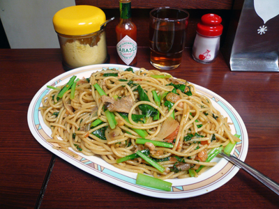 西銀座「スパゲティ&カレー ジャポネ」ジャリコ(ジャンボ・大盛)