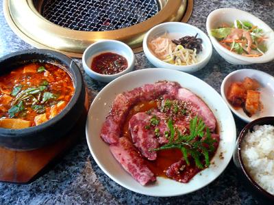 【ランチ】炭火焼肉 銀座 漢城軒/焼肉&純豆腐ランチ
