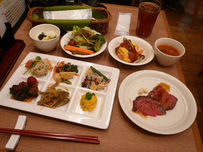 【ランチ】トレッサ横浜・Buffet Garden Plants(ブッフェ ガーデンプランツ)/洋食ブッフェ