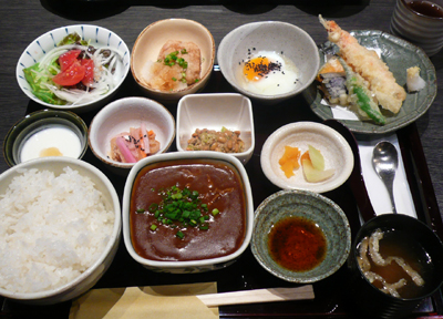 【ランチ】京橋・鮮菜魚 早瀬/健康定食(限定10食)