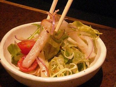 有楽町・千房 Elegance/ランチのサラダ