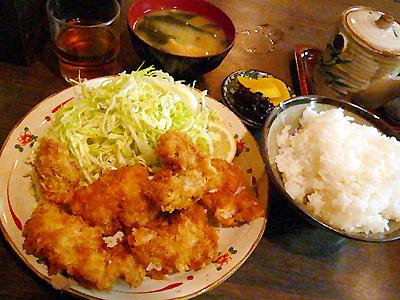 【ランチ】有楽町・季節料理 西田/若鶏の一口かつ定食