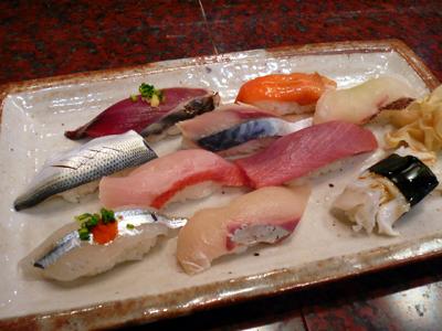 【ランチ】千葉・稲毛海岸「さかえ寿司」ですしランチ