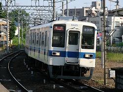 東武東上線8000系電車東松山駅にて