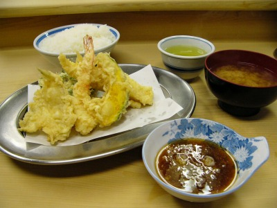 【ランチ】神保町・天ぷら いもや/天ぷら定食