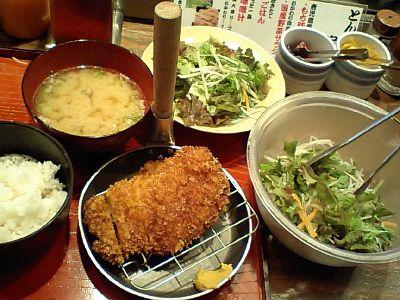 【ランチ】丸の内・TOKIA地下 赤垣屋/とんかつ定食